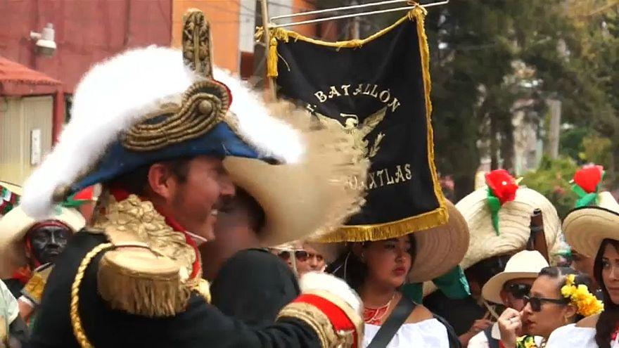 Meksika: Fransa ordusuna karşı Puebla zaferinin 155'inci yıl dönümü