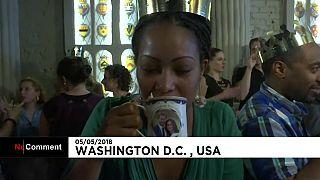 ABD'de 'İngiliz kraliyet düğünü' konseptli bar açıldı