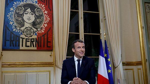 Egy éve hatalmon Emmanuel Macron