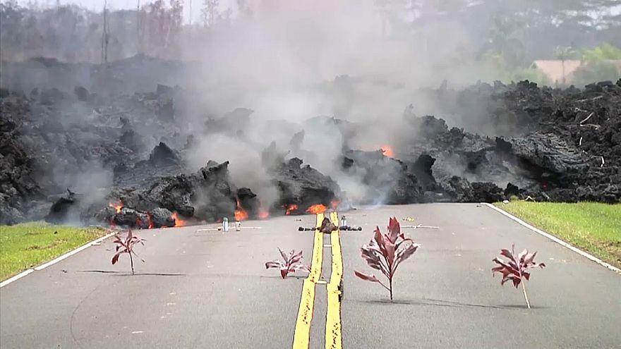 Lava do vulcão Kilauea destrói casas no Havai