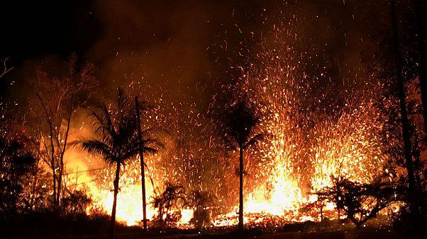 A közelében lakókat fenyegeti a Kilauea vulkán
