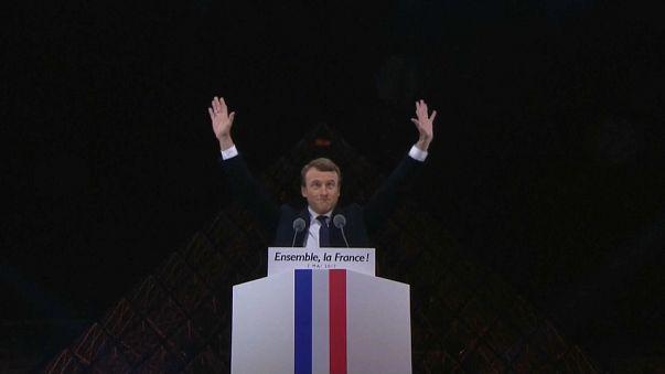 Primer año de Macron en el poder