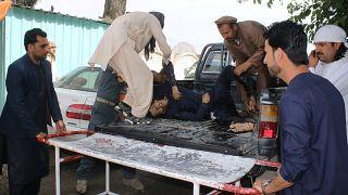 Взрыв в мечети и избирательном центре