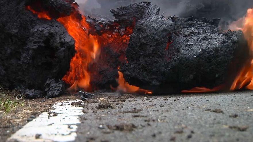 Hawai se estremece con los rugidos del volcán Kilauea