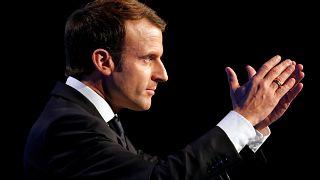 Emmanuel Macron foi eleito há um ano
