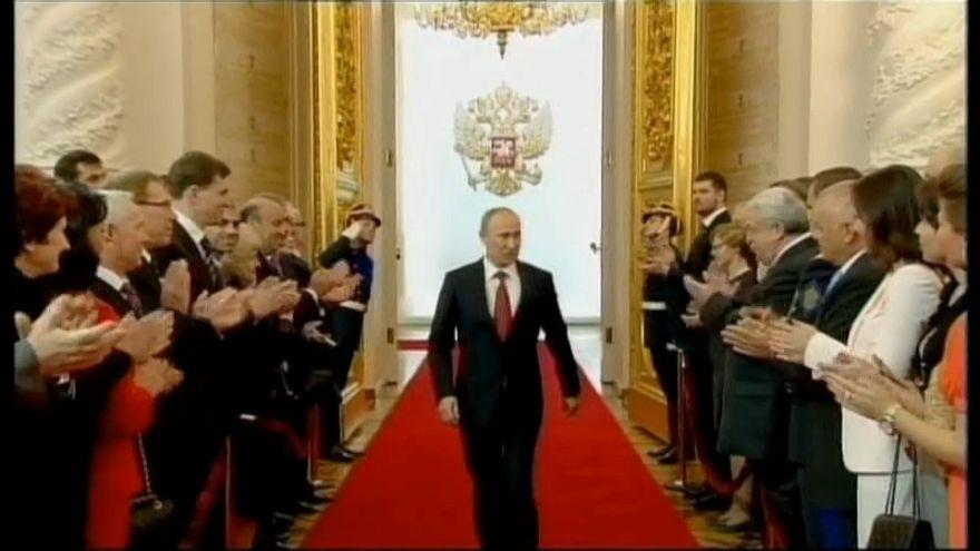 El presidente Putin toma posesión de su cuarto mandato en Rusia
