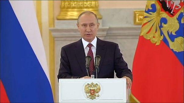 Четвёртая инаугурация Владимира Путина