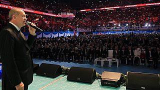 Erdoğan seçim manifestosunu açıkladı