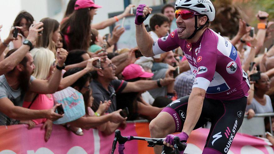 Третий этап Giro d'Italia: триумф Вивиани