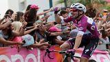 Giro d'Italia'da yine Viviani kazandı
