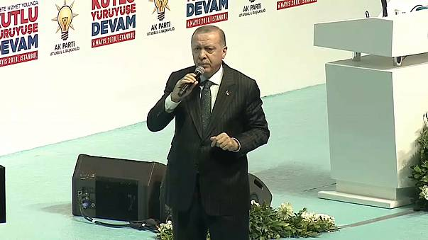 Erdogan outlines his AK party election manifesto