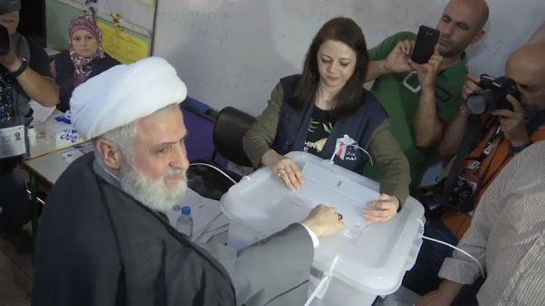 Jornada electoral con baja participación en Líbano