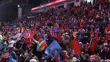 Teljes gőzzel dübörög a kampány Törökországban