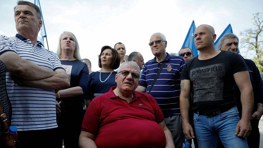 War criminal stopped from holding controversial rally in Serbia