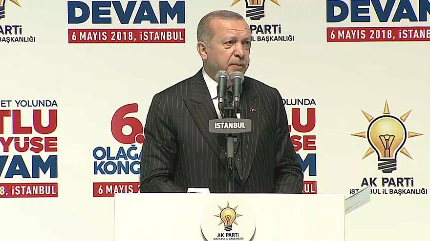 Erdogan in Istanbul