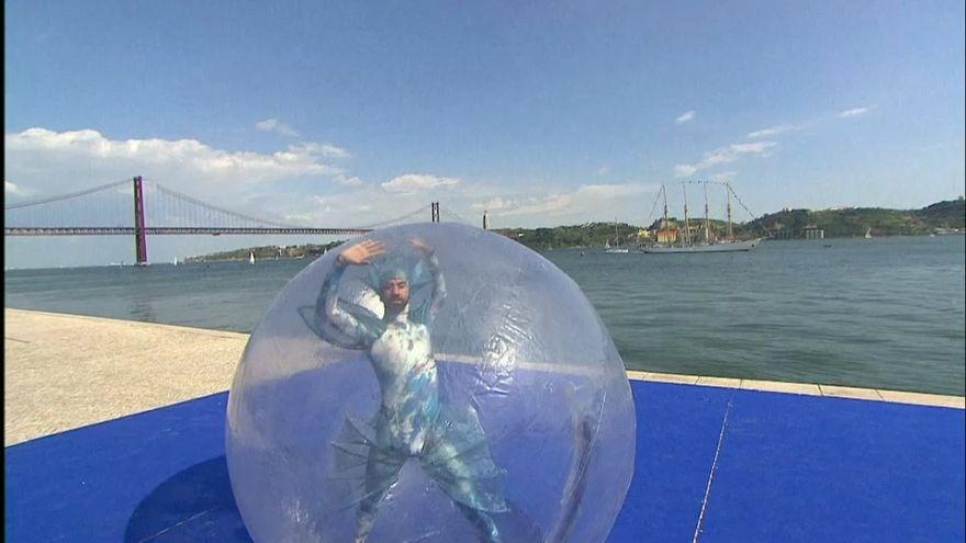 Lisbona: red carpet per gli artisti dell'Eurovision song contest