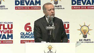 Presidente turco promete novas operações militares fora das fronteiras