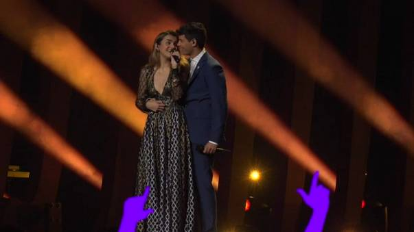 Últimos retoques escénicos en la recta final para Eurovisión