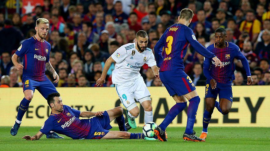 الكلاسيكو الإسباني ينتهي بالتعادل بهدفين في كل مرمى