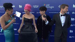 Começou o festival da eurovisão português
