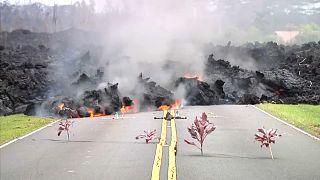 Mais de 20 casas destruídas pelo vulcão Kilauea no Havai