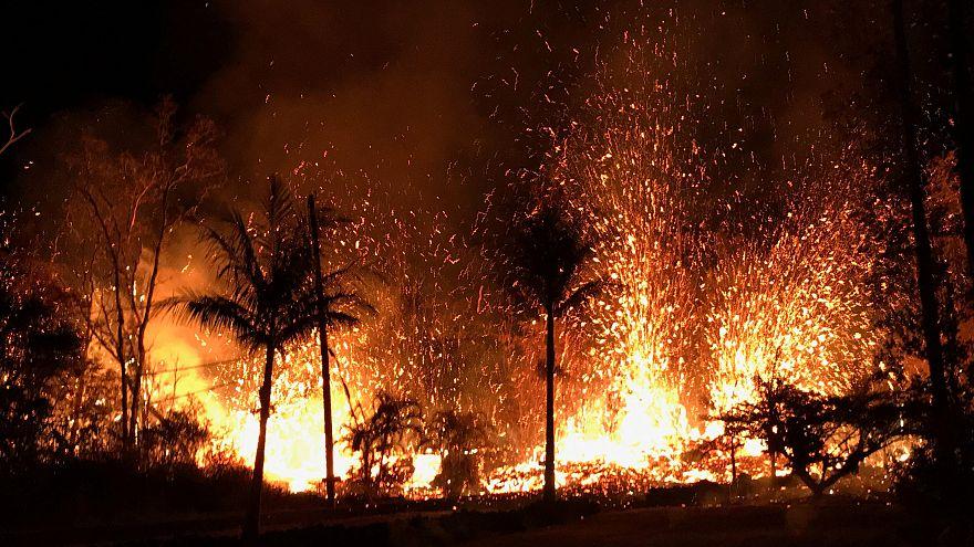 هدوء مؤقت لبركان كيلاويا يسمح لسكان هاواي بعودة سريعة لمنازلهم