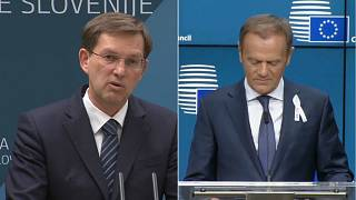 Donald Tusk on two-day visit to Slovenia