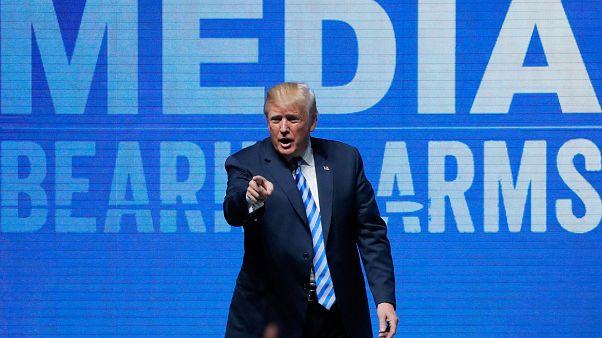 Trump caricature le 13 novembre 2015, colère en France