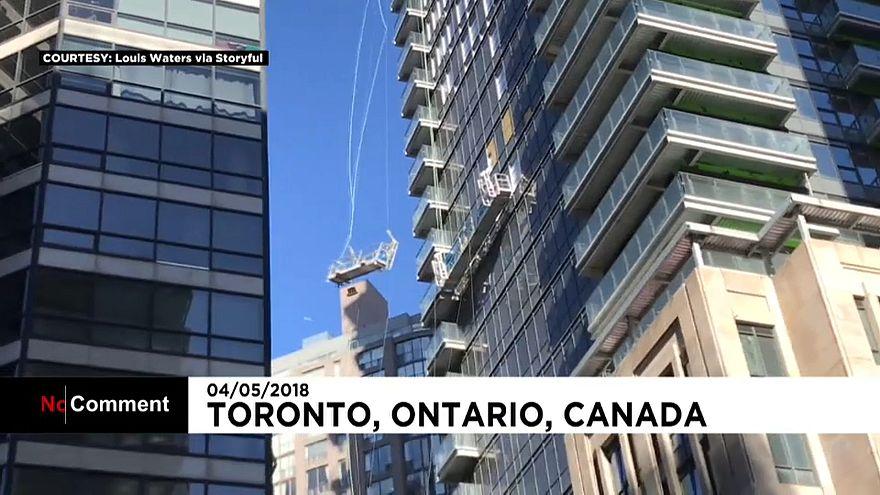 La province canadienne de l'Ontario en proie à des vents violents