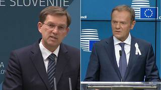 Na Eslovénia, Tusk prepara o futuro dos Balcãs