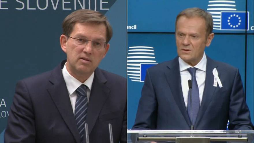 """Tusk: """"Entwicklung Sloweniens ist EU-Erfolgsgeschichte"""""""