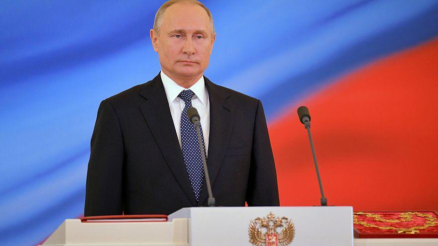 Ορκίστηκε για 4η θητεία ο Βλαντιμίρ Πούτιν