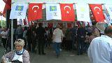 İYİ Parti standına bıçaklı saldırı