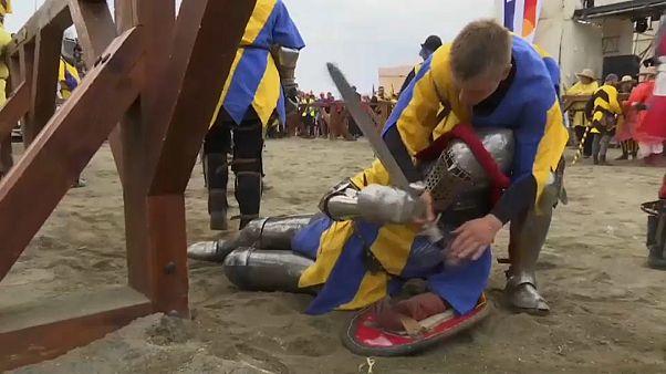 Brincar à Idade Média... com armas reais