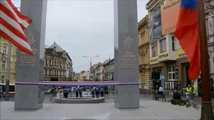 73 éve szabadult fel Plzen