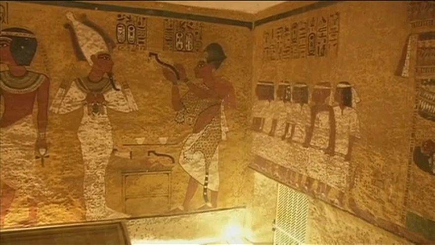 Nincs titkos kamra Tutanhamon sírjában