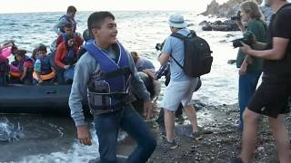 Lesbos is a popular EU entry point for migrants