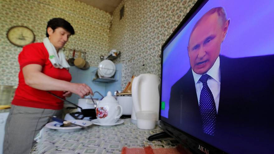 Putin startet seine vierte Amtszeit