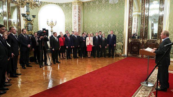 """Putin aboga por """"una Rusia para todos"""" en su discurso de investidura"""