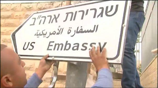 Cuenta atrás para el traslado de la embajada de EE.UU. a Jerusalén