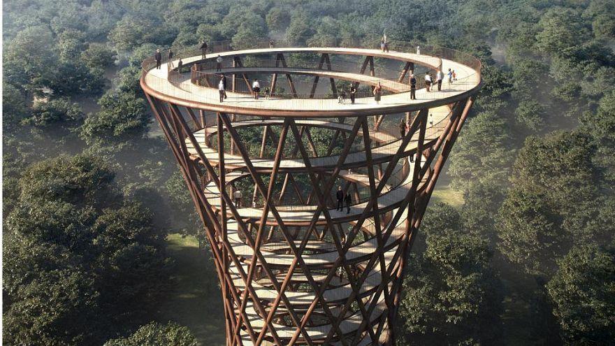 Un rascacielos de madera en Dinamarca abre nuevos caminos