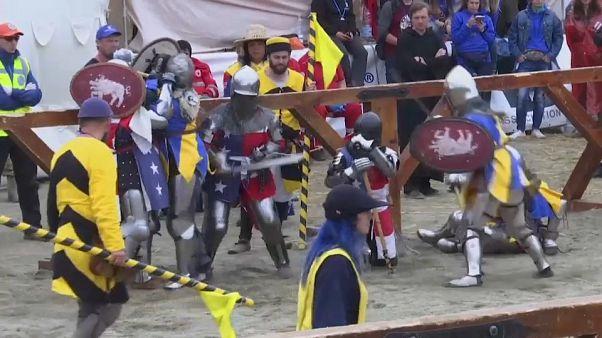 Brutales batallas medievales del siglo XXI