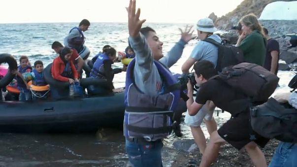 Três bombeiros espanhóis enfrentam a justiça grega na ilha de Lesbos