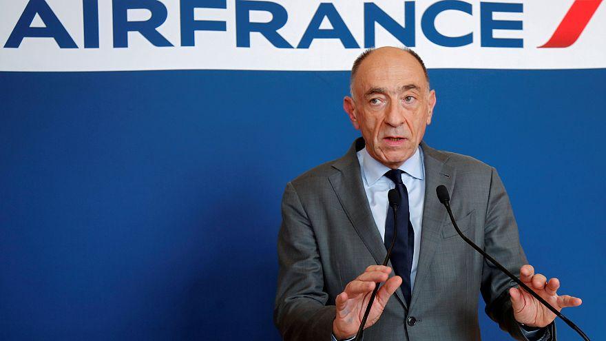 Air France-KLM chief Jean-Marc Janaillac announced his resignation