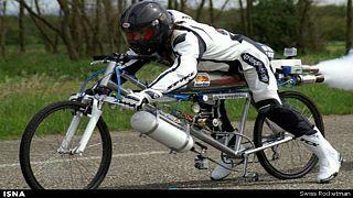 فرانسوا جیسی، مخترع «دوچرخۀ موشکی» کشته شد