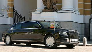 Putin ditches imported cars in favour of 'Russian-made limousine'