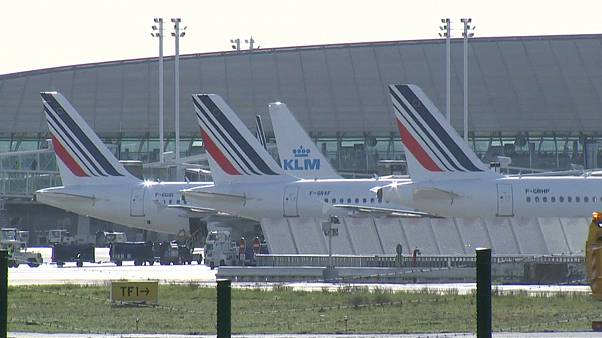 Desplome bursátil de Air France-KLM