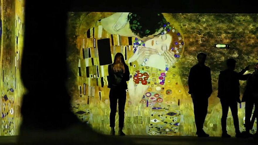 Paris: Gustav Klimts Kunst digital in Szene gesetzt