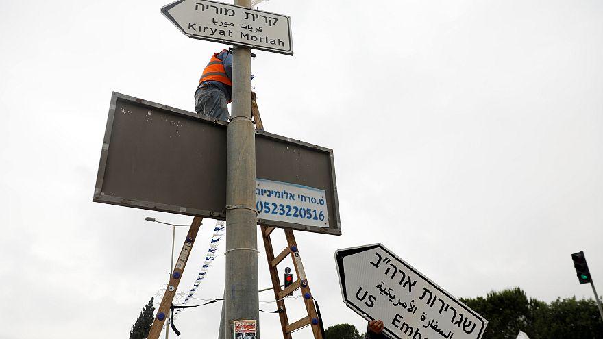 Jérusalem : les panneaux de la discorde