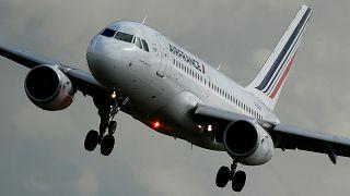 Greves na Air France causam queda a pique nas ações